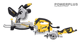 Powerplus zaagmachines