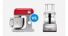 Wat is het verschil tussen een keukenmixer en een foodprocessor?