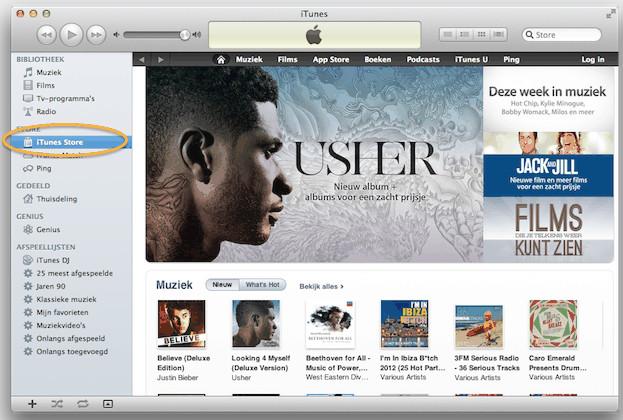 iTunes account