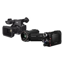videocamera's en actioncamera'