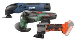 Cordless multi-tools