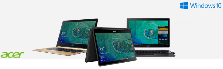Acer Swift Acer Spin Acer Switch