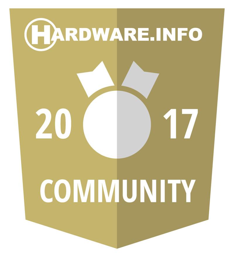 Hardware.info Community award 2017