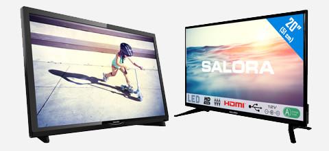 Welke tv kies ik voor de camper of caravan?