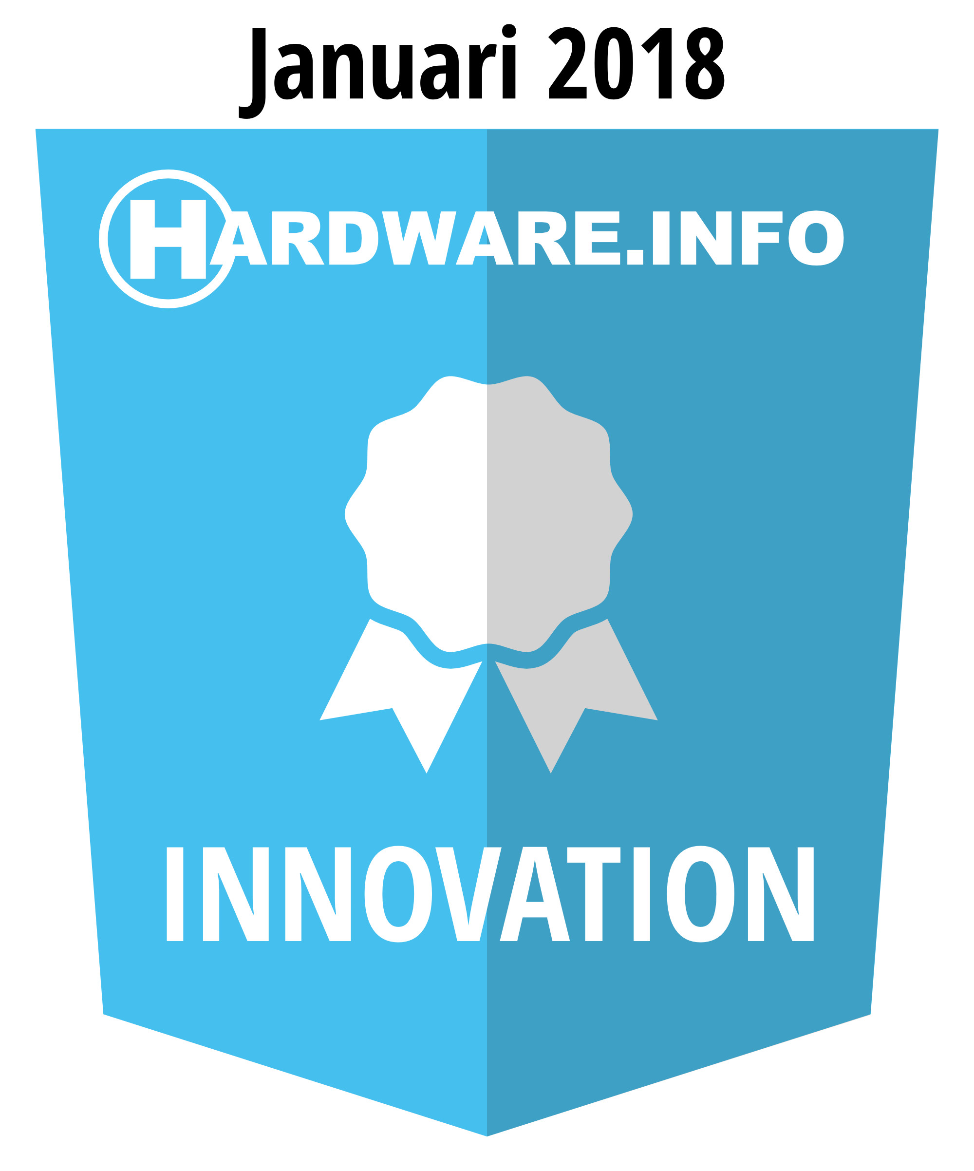 Hardware.info Innovation award 01-2018