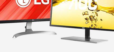 Uiterlijk en design van monitoren