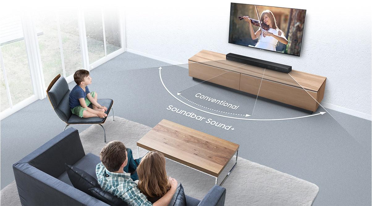 Samsung Sound+ soundbars