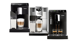 Philips espresso machines