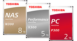 Toshiba internal hard drives HDD