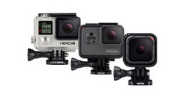 GoPro action camera's