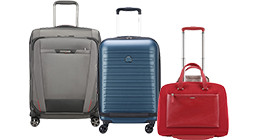 Suitcases with laptop compartment
