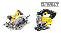 DeWalt sawing machines