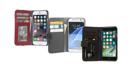 Decoded phone cases