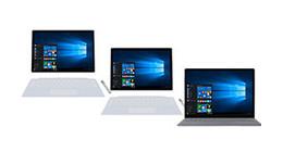 Microsoft laptops