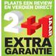JVC 2+1 jaar extra garantie