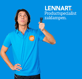 Product specialist bij Zaklampcenter.be
