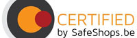 Certified bij Safeshops.be