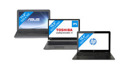 Features of various business laptop lines