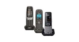 Landline telephone handsets without base station