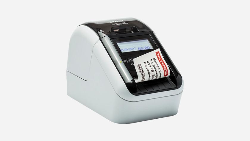 labelprinter netwerkaansluiting