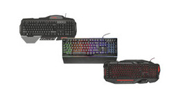Trust gaming keyboards
