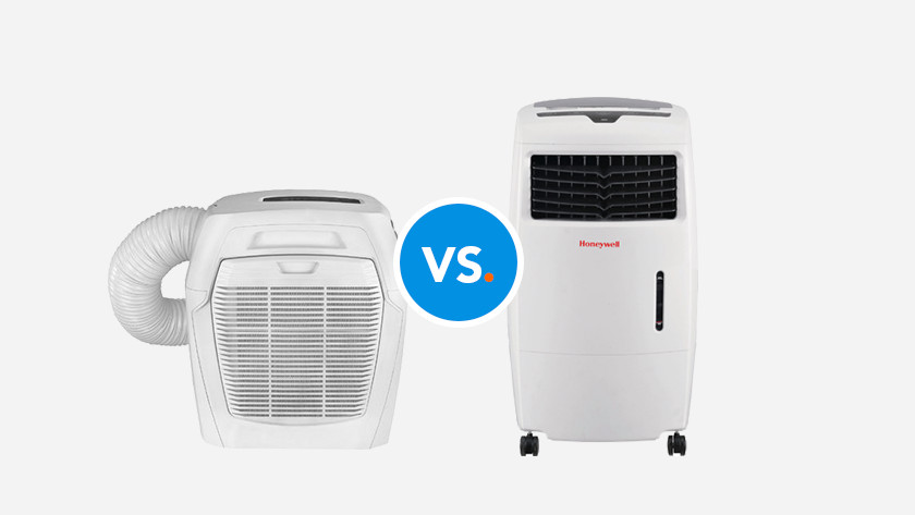 Portable air conditioner without hose