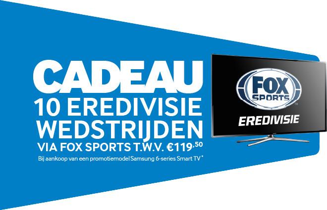 Gratis Eredivisie wedstrijden