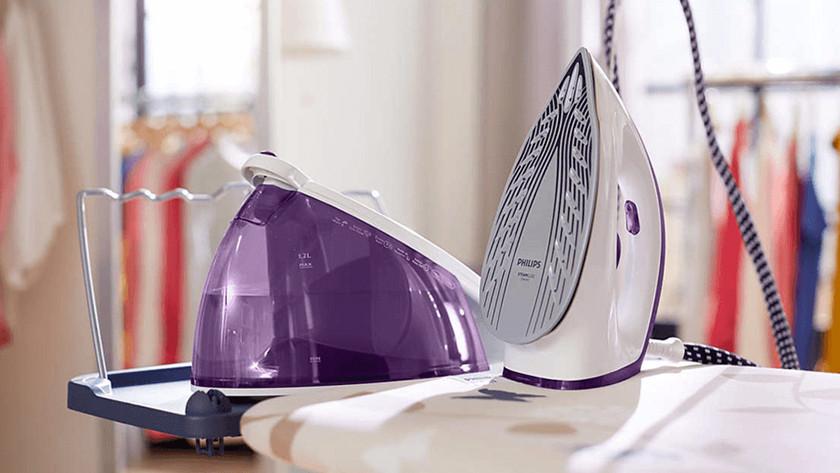 Reinigingsprogramma strijkijzers