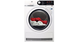 AEG dryers with free product with purchase