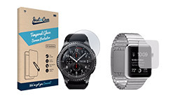 Screen protectors for smartwatches