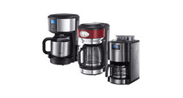 Russell Hobbs filter coffee machines