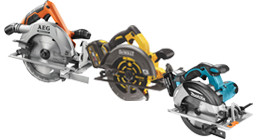 Cordless circular saws