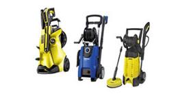 High-pressure cleaners