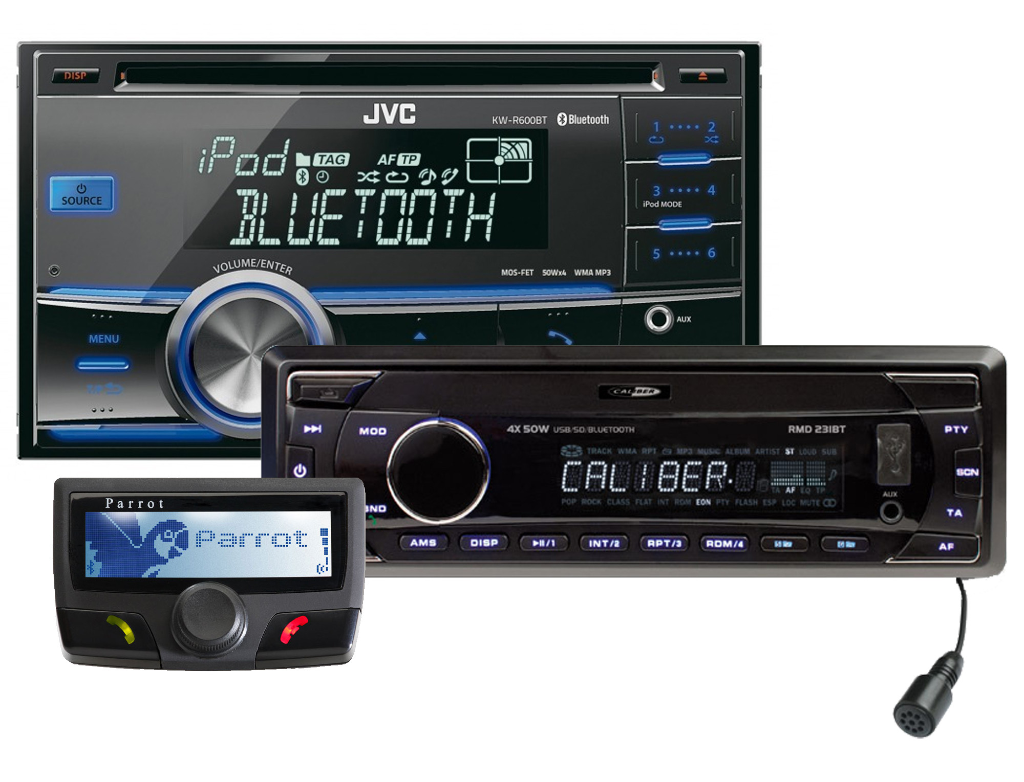 Autoradio's met Bluetooth