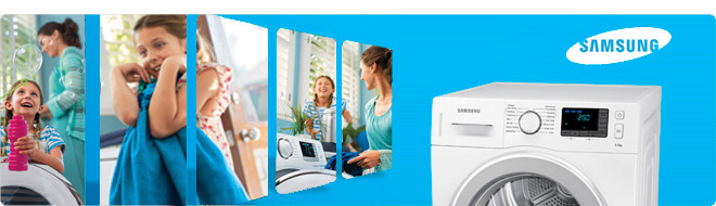 Alles over Samsung wasdrogers
