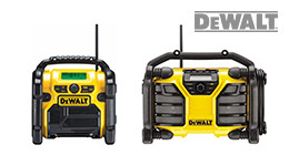DeWalt bouwradio's
