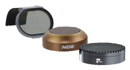 Lens filters for drones
