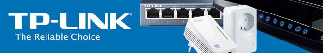 TP-Link netwerkproducten