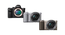 Sony digitale systeem camera's