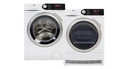 Washing machine and dryer sets