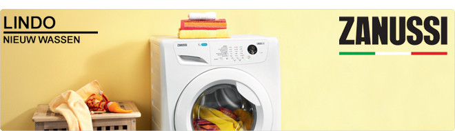 Zanussi Lindo wasmachines