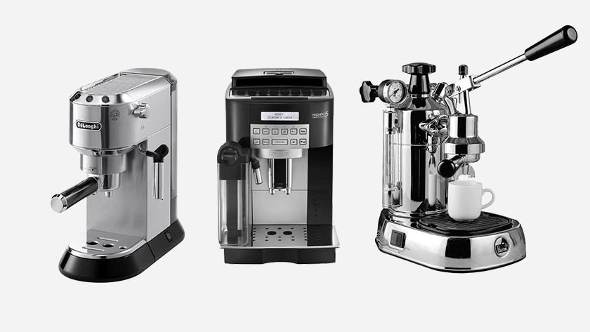 Halfautomatische espressomachine