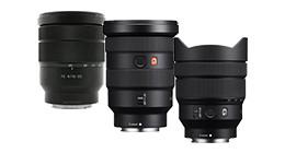Cameralenzen voor Sony camera's