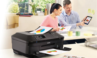 Thuiskantoor printers