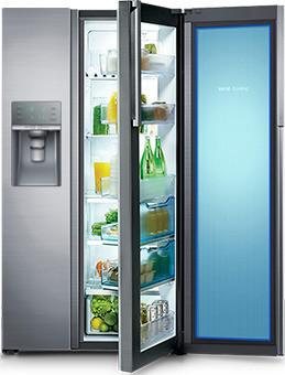 Samsung Food Showcase versheid binnen handbereik