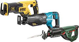 Cordless reciprocating saws