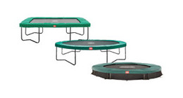 Mountain trampolines