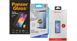 Case friendly screen protectors