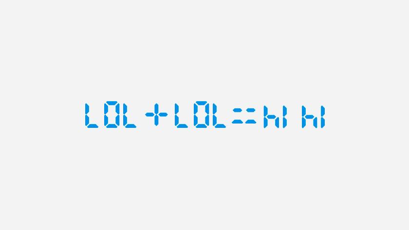 woorden schrijven rekenmachine