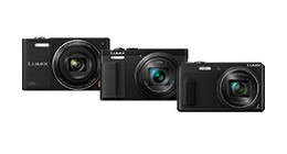 Panasonic digital cameras compact